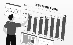 股市震荡5个月 货币ETF规模增长超1000亿
